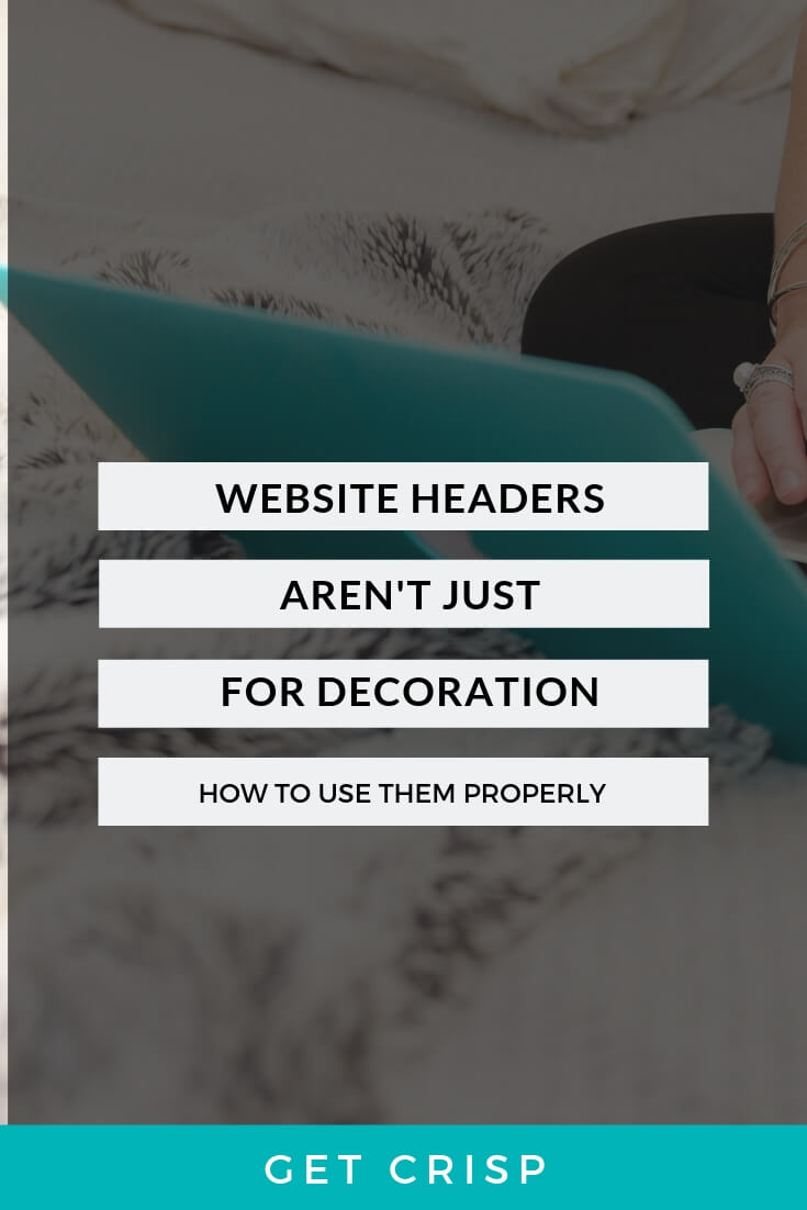 Website Headers Aren't Just For Decoration