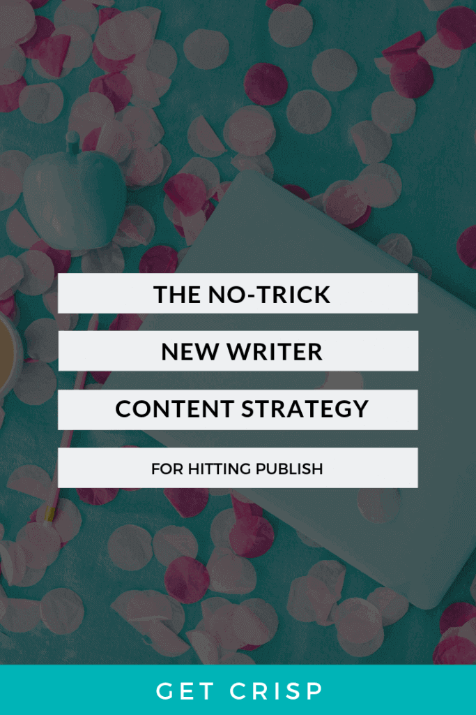 The No-Trick New Blogger Strategy for Content Creation