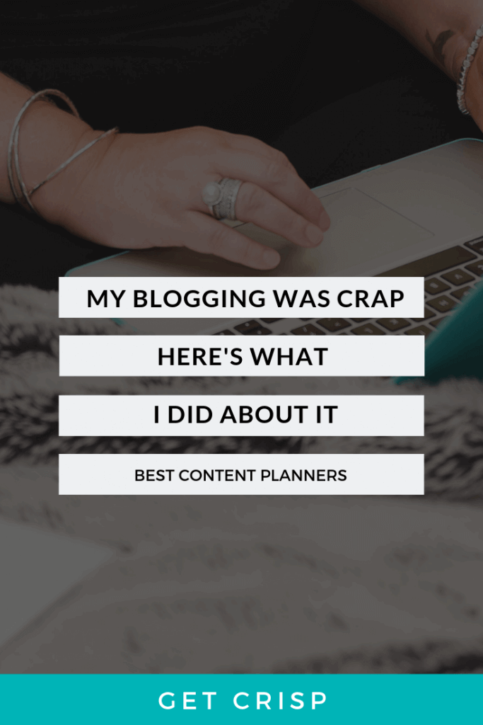 Best Content Planners for Bloggers (Or My Blogging Was Crap, Here's What I Did About It)