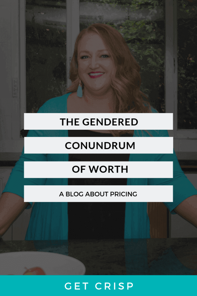 The Gendered Conundrum Of Worth
