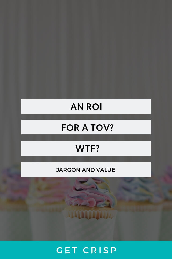 An ROI on a TOV and WTF?