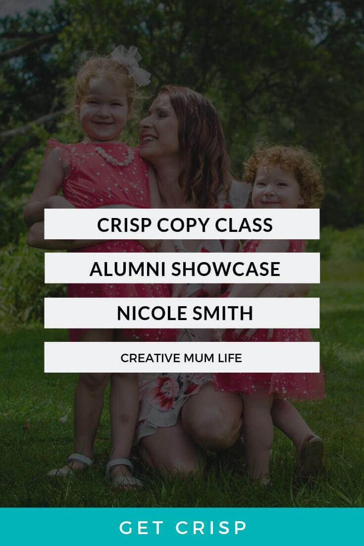 Crisp Copy Class Alumni Showcase – Nicole Smith