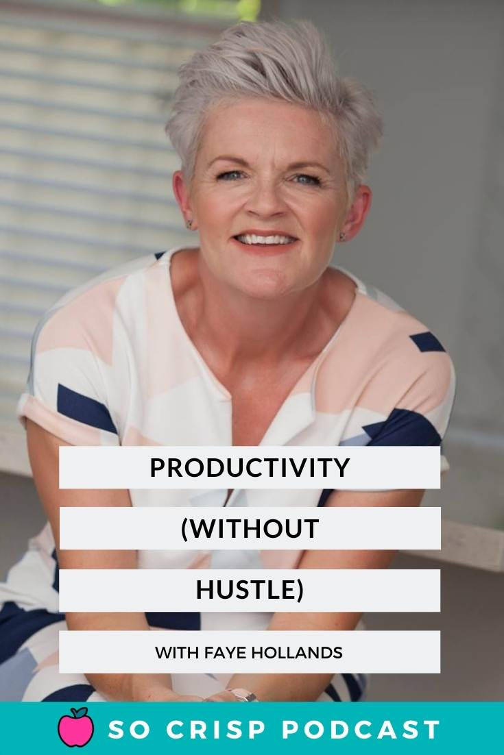 The Business Hustle – Faye Hollands | So Crisp Podcast