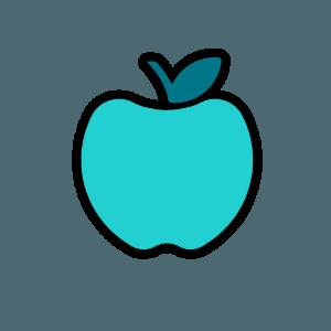 Crisp Copy Class Teal Apple
