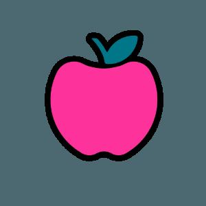 Crisp Copy Class Pink Apple