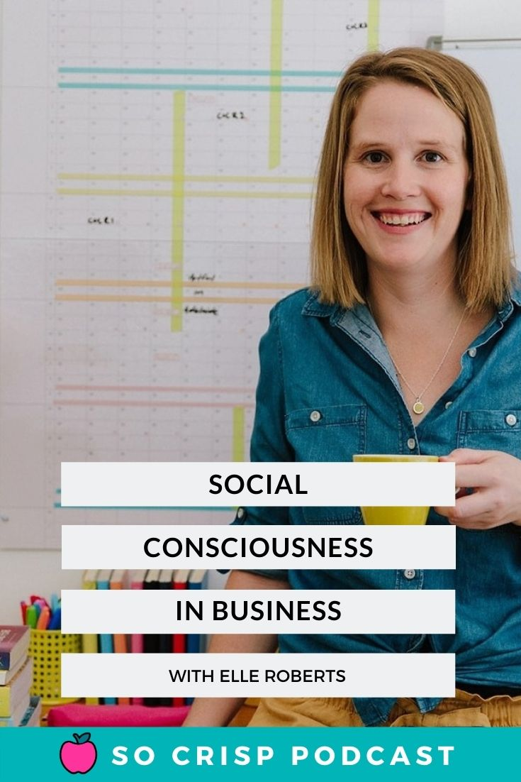 Social Consciousness – Elle Roberts | So Crisp Podcast