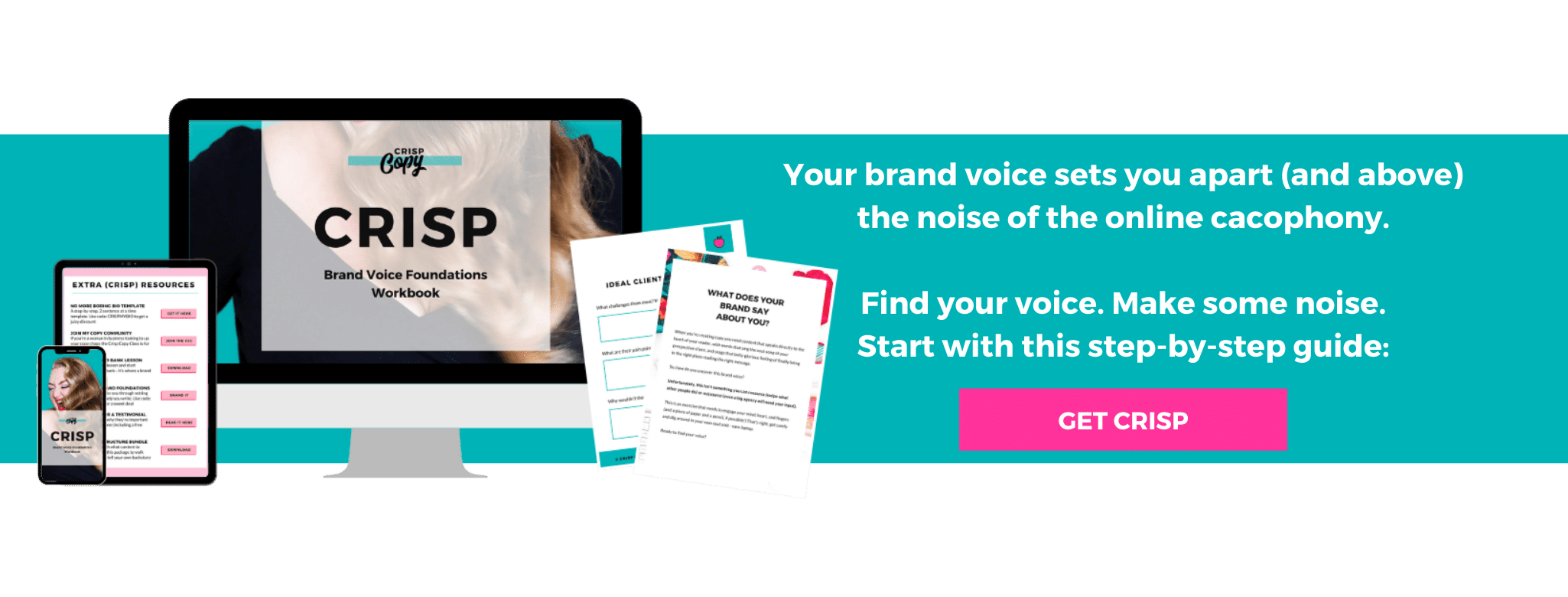 Brand Voice Development Crisp Copy