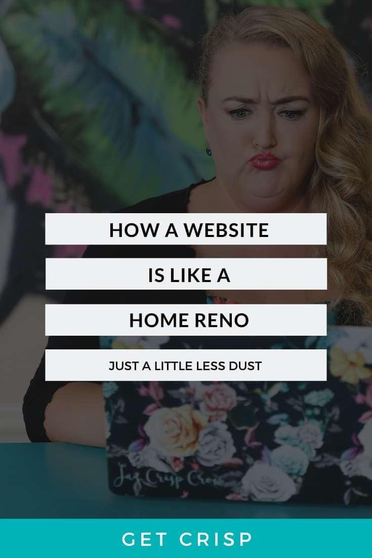 How A Website Is Like A Home Reno