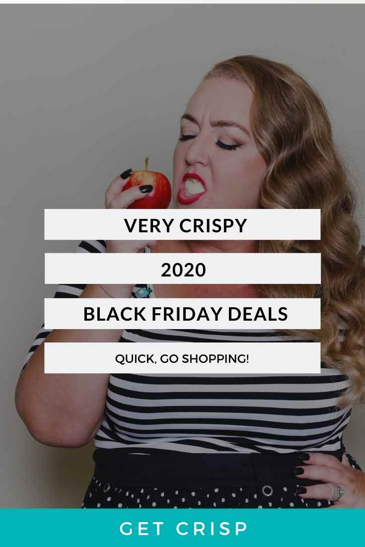 Very Crispy 2020 Black Friday Deals