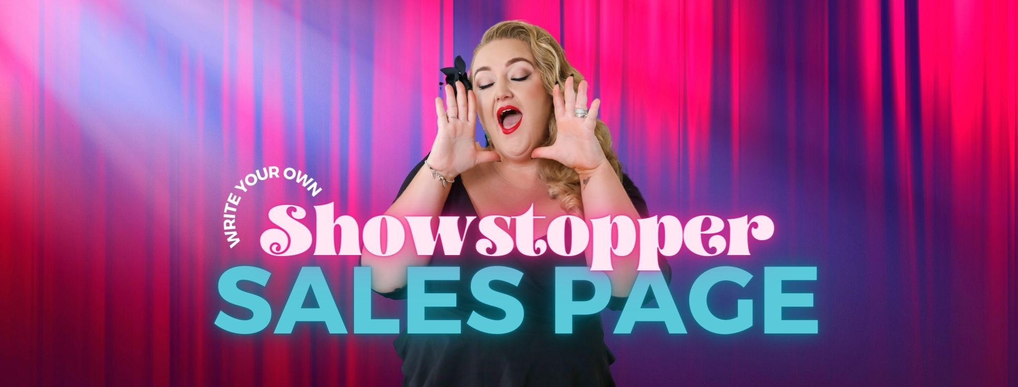 Sales Page Copywriting Course Crisp Copy Showstopper