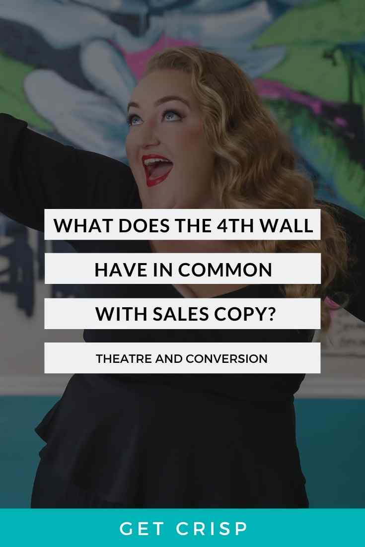 What Does The 4th Wall Have To Do With Sales Copy?